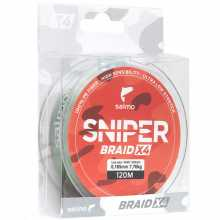 Леска Salmo плетёная Sniper BRAID Army Green 120 026