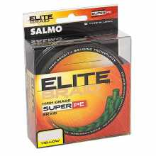 Леска Salmo плетёная ELITE BRAID Yellow 091 020