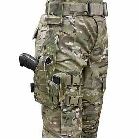 Кобура Drop Leg Warrior Assault Systems, цвет – Multicam