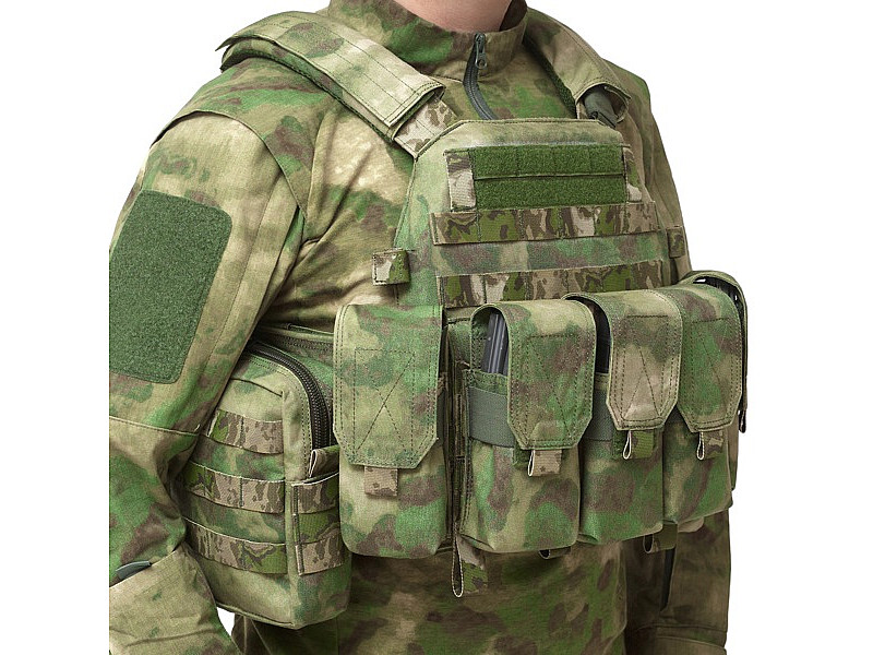 Малый утилитарный MOLLE-подсумок Warrior Assault Systems, цвет – A-TACS FG