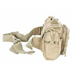 Сумка поясная Tactical PRO Messenger 5л 600 Den coyote